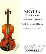 Violin Studies - Scales And Arpeggios - Otakar Ševčík