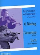 Concertino In A Minor For Violin And Piano Op.21