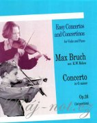 Concerto in G Minor For Violin And Piano Op.26