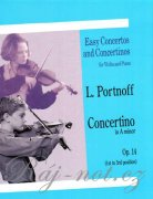 Concertino in A Minor For Violin And Piano Op.14