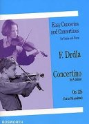 Concertino in A Minor For Violin And Piano Op.225