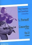 Violin Concertino In E Minor Op.13 - Leo Portnoff