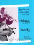 Concertino in A Minor For Violin And Piano Op.137 No.2