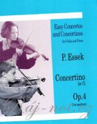 Concertino in G Op.4 - Paul Essek