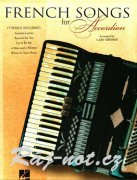 FRENCH SONGS for ACCORDION / akordeon
