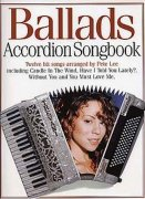 Accordion Songbook Ballads - akordeon