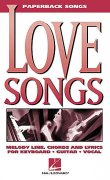 Paperback Songs - LOVE SONGS   vocal / chord