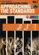APPROACHING THE STANDARDS + CD v1     rhythm section / conductor