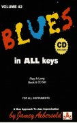 AEBERSOLD PLAY ALONG 42 - BLUES IN ALL KEYS + CD