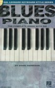 BLUES PIANO the instructional book + Audio Online / klavír