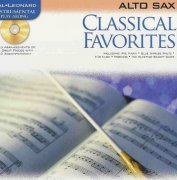 CLASSICAL FAVORITES + CD / altový saxofon