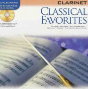 CLASSICAL FAVORITES  + CD / klarinet