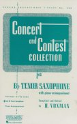 CONCERT & CONTEST COLLECTIONS for Tenor sax - solový sešit
