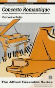 CONCERTO ROMANTIQUE by C.Rollin   2 pianos 4 hands