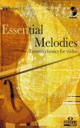 ESSENTIAL MELODIES + CD / housle (position 1-5)