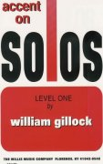GILLOCK - ACCENT ON SOLOS level 1