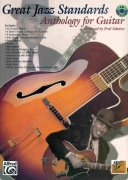 GREAT JAZZ STANDARDS - Anthology for Guitar + CD
