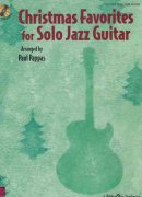 CHRISTMAS FAVORITES FOR SOLO JAZZ GUITAR + CD / kytara + tabulatura
