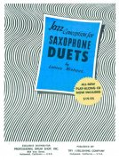 JAZZ CONCEPTION FOR SAX DUETS by Lennie NIEHAUS + CD for 2 alto or 2 tenor saxes