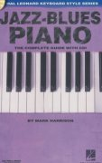 JAZZ-BLUES PIANO + Audio Online   the instructional book