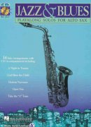 JAZZ & BLUES - PLAY ALONG + CD / altový saxofon