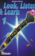 LOOK, LISTEN & LEARN 1 + CD method for clarinet