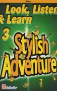 LOOK, LISTEN & LEARN 3 - STYLISH ADVENTURE / přičná flétna