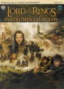 LORD OF THE RINGS - INSTRUMENTAL SOLOS + CD housle + piano