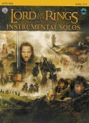 LORD OF THE RINGS - INSTRUMENTAL SOLOS + CD alt saxofon