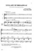 LULLABY OF BROADWAY /  SATB