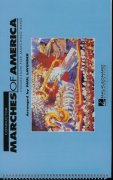 MARCHES OF AMERICA  Collection for Marching Band / partitura