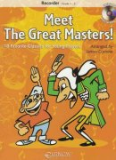 MEET THE GREAT MASTERS! + CD  recorder