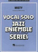 MISTY - Vocal Solo with Jazz Ensemble / partitura + party