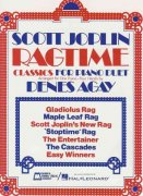 SCOTT JOPLIN - RAGTIME CLASSICS FOR PIANO DUETS