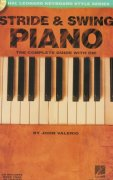 STRIDE & SWING PIANO +  Audio Online   the instructional book