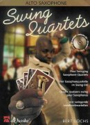 SWING QUARTETS + CD   alto sax quartets