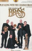 Play Along with the Canadian Brass  (easy) trombon