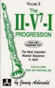 AEBERSOLD PLAY ALONG 3 - THE II/V7/I PROGRESSION + CD