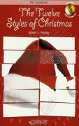THE TWELVE STYLES OF CHRISTMAS + CD / alto saxofon