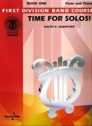 TIME FOR SOLOS BOOK 1 FLUTE / příčná flétna + klavír