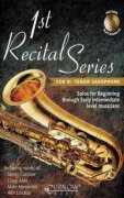 1st RECITAL SERIES + CD  tenor saxofon