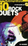 10 ROCK DUETS FOR ELECTRIC OR ACOUSTIC GUITAR + CD