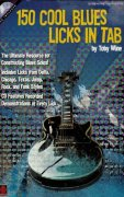 150 COOL BLUES LICKS IN TAB + CD / kytara + tabulatura
