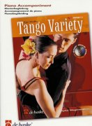TANGO VARIETY   piano accompaniment  for violin solo book / klavírní doprovod
