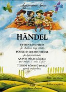 HANDEL - 15 easy pieces for children´s string orchestra