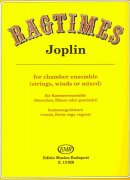 RAGTIMES by Joplin for chamber ensemble (strings,winds or mixed)