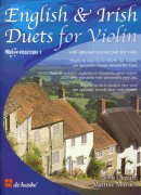 ENGLISH & IRISH DUETS FOR VIOLIN  (position 1) with optional part for viola