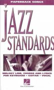 Paperback Songs - JAZZ STANDARDS    vocal / chord