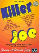 AEBERSOLD PLAY ALONG 70 - KILLER JOE (easy to play) + CD