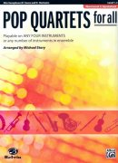 POP QUARTETS FOR ALL (Revised and Updated) level 1-4  //  altový saxofon